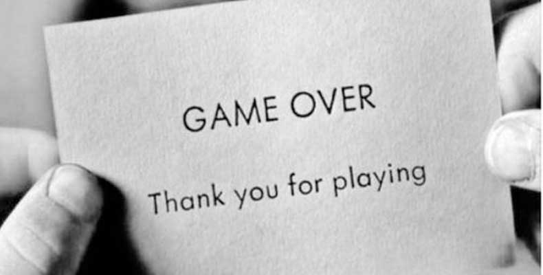 Game Over Breakup